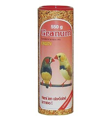 07124 Granum for small exotic birds 550g