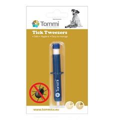 01964 Plastic tick tweezers