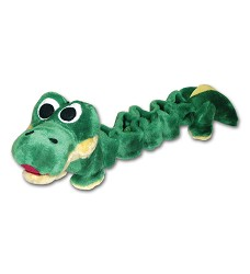 01465 Bungee toy crocodile