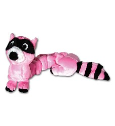 01466 Bungee toy teddy bear raccoon