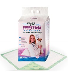 01236 Puppy Field Sanitary pads 25 pcs